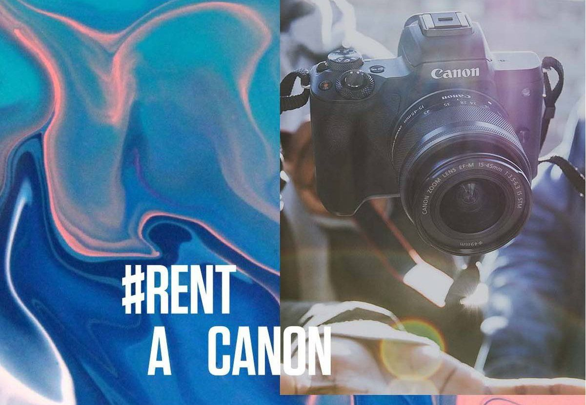 Rent a Canon EOS M50